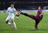"""Tragiškai rungtynes pradėjęs """"Milan"""" sugebėjo išsigelbėti nuo pralaimėjimo"""