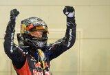 """S.Vettelis: """"Lenktynėse """"McLaren"""" pilotai buvo greitesni"""""""