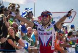 """Drama """"Vuelta a Espana"""" dviračių lenktynėse – bendros įskaitos lyderius skiria tik viena sekundė"""