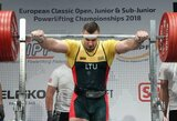 Pasaulio rekordininkas A.Paulauskas suspenduotas dėl dopingo – karjerą žada tęsti toliau