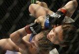 """""""UFC on FOX 22"""": M.Waterson per minutę """"užsmaugė"""" P.VanZant"""