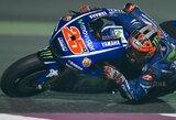 """Nusivylimas: pirmąją """"MotoGP"""" sezono kvalifikaciją """"nuplovė"""" lietus"""