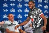 """K.Leonardas atskleidė priežastis, kodėl jis taip norėjo į Los Andželą ir kodėl pasirinko """"Clippers"""""""