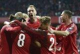 EURO2020: Danija iškovojo svarbią pergalę prieš šveicarus