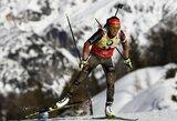 Pasaulio biatlono čempionate – trečiasis L.Dahlmeier auksas ir blankus lietuvių pasirodymas