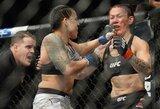 Per 51 sekundę C.Cyborg sutriuškinusi A.Nunes iškovojo antrą UFC čempionės titulą!