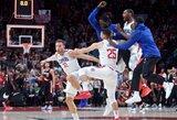 """""""Clippers"""" pergalę išplėšė su sirena tritaškį smeigęs B.Griffinas"""