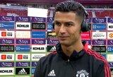"""Jaudulio kaustytas C.Ronaldo: """"Aš priklausau Mančesteriui"""""""