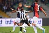 """""""Udinese"""" iškovojo pergalę dėka įvarčio į savus vartus"""