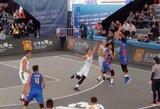 Pasaulio jaunimo 3x3 krepšinio čempionate mongolai dviem tolimais šūviais palaužė lietuvius, kurie vėliau pralaimėjo ir olandams