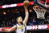 """NBA skautai: """"Pacers"""" su D.Saboniu rodo finalų vertą žaidimą, o jų raktas į pergales – gynyba"""