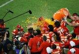 """50metų trukęs laukimas baigėsi: dramatiškose """"Super Bowl"""" rungtynėse triumfavo """"Chiefs"""" ekipa"""