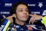 "V.Rossi po ilgos pertraukos laimėjo ""MotoGP"" etapo kvalifikaciją"