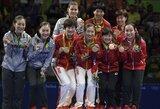 Lietuva olimpiados medalių įskaitoje prarado keturias pozicijas