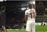 D.Carloso šou Europos lygos finale: pražanga baudos aikštelėje, įspūdingas įvartis ir kritimas prieš pat keitimą