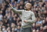 """P.Guardiola neabejoja, jog """"Man City"""" gali įveikti nesustabdomą """"Liverpool"""" ir vėl laimėti """"Premier"""" lygą"""