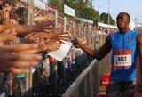 """U.Boltas: """"Esu nusivylęs savo pasirodymu Ostravoje"""""""