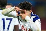 """Tottenham"" minimaliu rezultatu įveikė ""Burnley"""