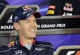 """S.Vettelis nežino, ar """"Red Bull"""" ekipa yra tarp lyderių"""
