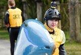 Pasaulio baidarių ir kanojų slalomo čempionate E.Baranauskaitė į pusfinalį nepateko