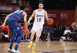 """""""Lakers"""" ukrainietis surengė rekordinį taškų pasirodymą G lygoje"""
