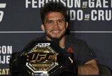 Apie karjeros pabaigą paskelbęs H.Cejudo paliko atvertas duris: sugrįžtų, jeigu UFC suorganizuotų kovą su tam tikru varžovu