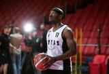 D.Jacksonui kontraktą siūlo dvi Eurolygos komandos, pats krepšininkas tai neigia