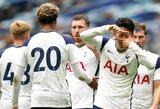 """""""Tottenham"""" 89-ąją minutę išplėšė pergalę draugiškose rungtynėse su """"Birmingham"""""""