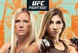 UFC: JAV žvaigždę ant žemės bandys nuleisti kovinga meksikietė