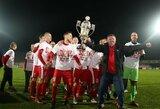 Sirgaliai pasirinko: LFF Supertaurės rungtynės vyks Marijampolėje