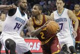 """K.Irvingas ir L.Jamesas pelnė pusę komandos taškų, tačiau """"Cavaliers"""" pralaimėjo"""