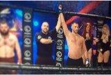 M.Knystautas MMA turnyre Anglijoje iškovojo pergalę, D.Žukausko pasirodymas Lenkijoje truko pusę minutės