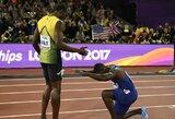 Tegyvuoja naujasis karalius: visų nušvilptas bėgikas triumfavo pasaulio čempionate, U.Boltas liko tik trečias!