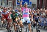 Pirmajame dviračių lenktynių Vokietijoje etape A.Kruopis finišavo 26-as