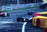"""Tragedija Belgijoje: avarijoje žuvo """"Formulės 2"""" lenktynininkas"""