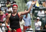 """""""FedCup"""": Latvijos moterų teniso rinktinė patiesė Rusiją, paaiškėjo pasaulio grupės finalo dalyvės"""