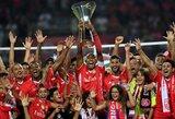 """""""Benfica"""" užtikrintai laimėjo Portugalijos supertaurę"""
