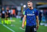"""J.Mourinho savo komandoje nori matyti """"Inter"""" gynybos specialistą"""