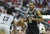 """K.Leonardas praleis """"Spurs"""" pasirengimo ciklą"""