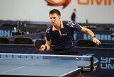 Pasaulio stalo tenisininkų reitinge – T.Mikučio, M.Stankevičiaus ir K.Riliškytės šuoliai į viršų
