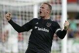 "Du W.Rooney įvarčiai ir ""DC United"" pergalė"