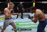 UFC Rusijoje: A.Volkovas nugalėjo buvusią NFL žvaigždę