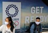 """Japonijos ministras pirmininkas Tokijo olimpiadą vadina """"prakeikta"""": """"Tai nutinka kas 40 metų"""""""
