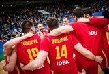 Juodkalnija tiki savo jėgomis eliminuoti latvius ir patekti į čempionatą Kinijoje