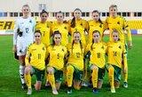 Lietuvos moterų futbolo rinktinė neprilygo rumunėms
