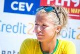 M.Povilaitytė-Paulikienė po daugiau nei metų pertraukos sugrįžo į tinklinio varžybas