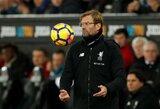 """J.Kloppas nekreipia dėmesio į """"Liverpool"""" žaidimą: """"Mes ne """"Harlem Globetrotters"""", mums svarbiausia – rezultatas"""""""
