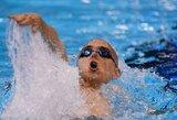 L.Csehas penktą kartą iš eilės tapo Europos čempionu 200 m kompleksinio plaukimo rungtyje (+ kiti rezultatai)