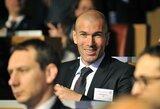 """Z.Zidane'as: """"Norėčiau išmėginti save trenerio kėdėje"""""""
