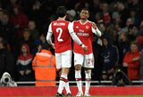 """Po sunkios traumos sugrįžęs ir audringų """"Arsenal"""" sirgalių ovacijų sulaukęs H.Bellerinas praleis susitikimą su """"Man United"""""""